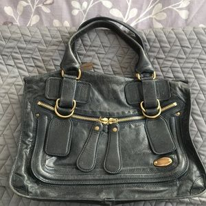 Chloe navy purse